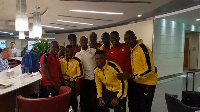 Black Stars players in USA for the friendlies