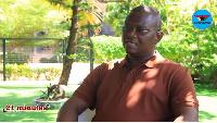 Aspiring Flagbearer of the NDC, Sylvester Mensah