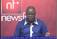 Host of NewsFile, Samson Anyennini