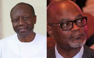 Ken Ofori-Atta and Citizen Kofi Amoah