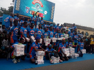 The 20 finalists of Cowbell Homowo Cycling Challenge in Osu