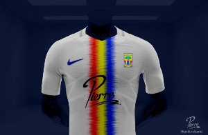 New home and away jersey for Accra Hearts of Oak