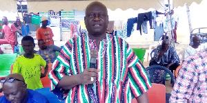 Member of Parliament for Ejura-Sekyedumase, Bawa Braimah