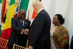 Ghana and Trump White House: Melania's visit, shithole, coronavirus etc.