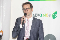 CEO of Advans Ghana, Olivier Bailly-Béchet