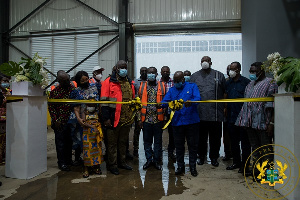 President Akufo-Addo commissions the ACARP project on his tour of Greater Accra
