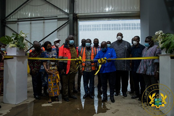 Phase II of the Accra Compost and Recycling Plant commissioned
