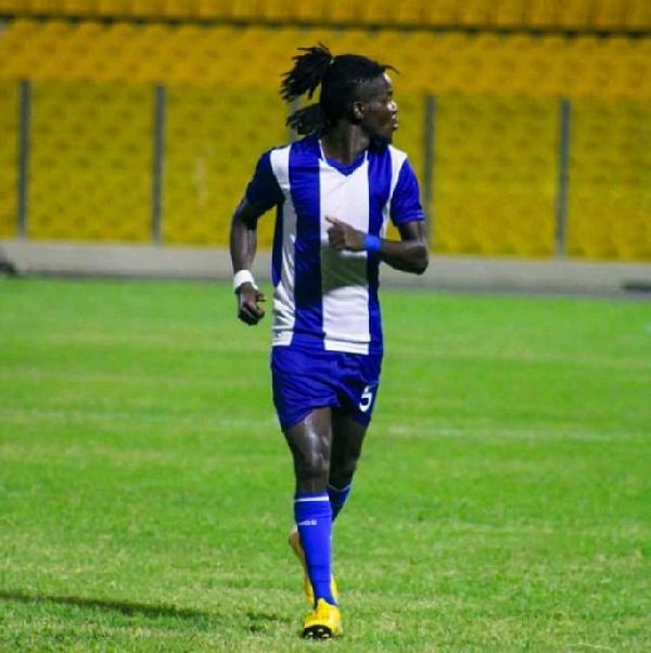 Accra Great Olympics defender, Philip Sackey