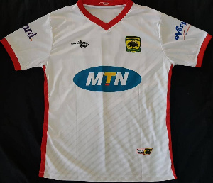 Asante Kotoko away jersey