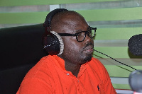 Peter Boamah Otukonor, Deputy director of Research for the opposition National Democratic Congress