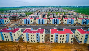 The 5000 housing unit facility was started by the Mahama administration in 2012