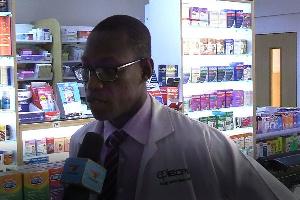 Pharmacist at East Cantonments Pharmacy, Johnson Osei