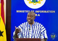 Kojo Oppong-Nkrumah, Information Minister