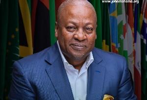 NDC flagbearer and former President, John Dramani Mahama
