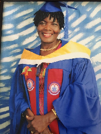 The late Evelyn Tetteh