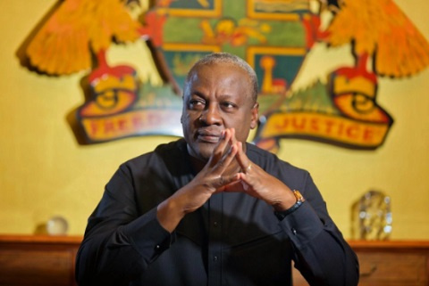 My children's safety caused me to weed - Mahama