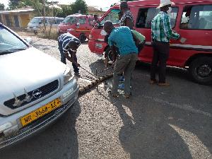 Somanya Kpong Car
