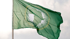 The African Union flag
