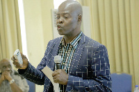 Co-chairman of Ghana Extractive Industries Transparency Initiative, Dr Steve Manteaw