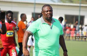 Head Coach of Aduana Stars, Samuel Paa Kwesi Fabin