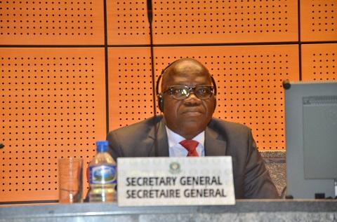 Secretary General John Azumah