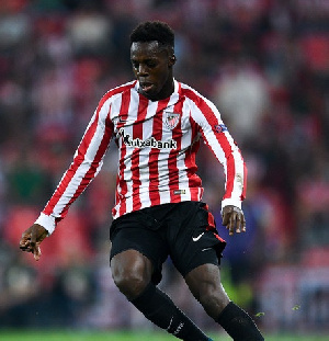 Inaki Williams has signed a seven-and-a-half year contract extension with Athletic Bilbao
