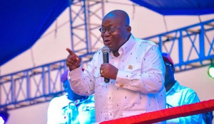 Nana Addo Dankwa Akufo-Addo is President of the Republic of Ghana