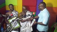 Agya Koo Nimo receives award from Okay fm
