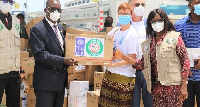 Ghana has received medical supplies from the West African Health Organisation