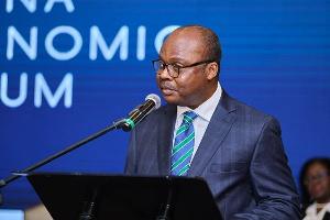 Dr Ernest Addison, Governor of the Bank of Ghana (BoG)