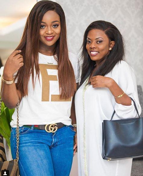 Jackie Appiah and Nana Aba Anamoah