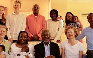 Kofi Annan Family