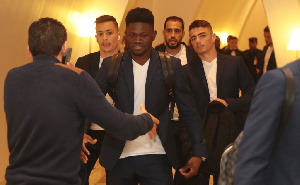 Bonsu who  joined  Esperance this season has impressed the technical team of his club