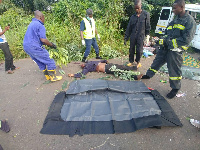 The accident occurred on Asikume-Peki Kpeve road in the Volta Region