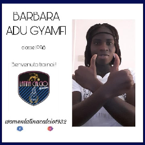 Barbara Adu Gyamfi has been playing in Italy's lower-tier for the past three years