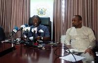 Kojo Oppong Nkrumah is Minister of Information