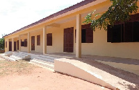 The new classroom block according to Adwoa Safo is aimed among other things to ease congestion