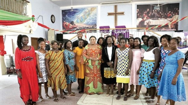 Rebecca Foundation equips 45 women with soap-making skills