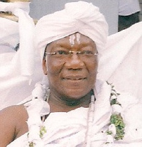 Nii Okaija III, Gbese Mantse and Adonte of the Ga State