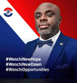 Mr. Kojo Frempong lost to incumbent MP for Wenchi