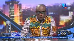 Paul Adom-Otchere, host of Good Evening Ghana