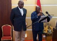 Boakye Agyarko and Akufo-Addo