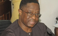 The Lands and Natural Resources Minister, John Peter Amewu