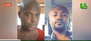 Victor Stephen Nana Kankam (L), Spark Benjamine (R)