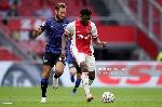 Kudus Mohammed looks forward to Ajax's next game against Vitesse