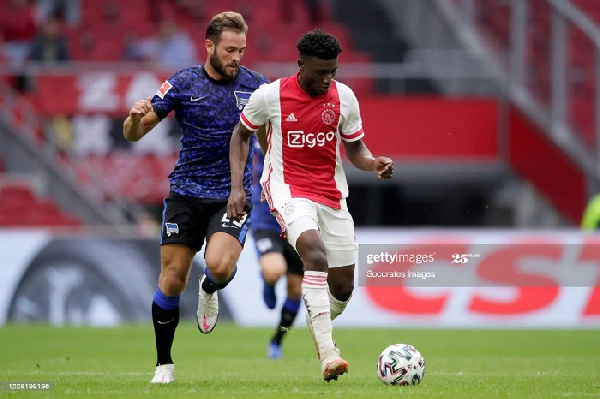 Ajax midfielder Mohammed Kudus speaks on his style of play