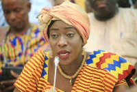 Minister of Tourism, Arts and Culture, Catherine Afeku