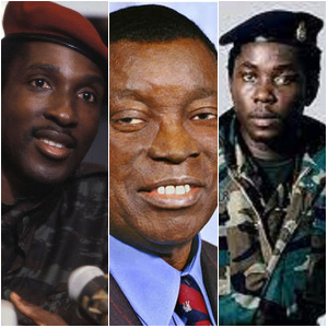 These three were among the leaders in Africa who were military rulers
