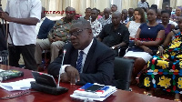 Deputy Minister-designate for Local Government and Rural Development, O.B. Amoah