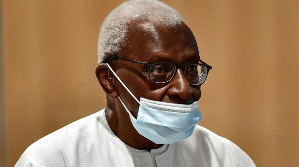 Former head of world athletics, Lamine Diack